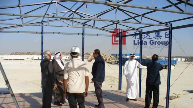 Saudi Dammam workers camp project