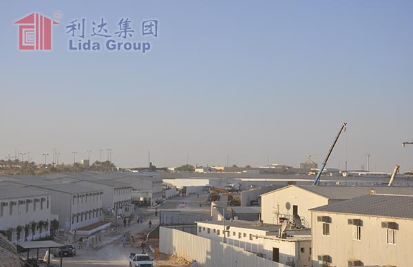 Saudi Binladin Group Prefabricated House Labor Camp Project