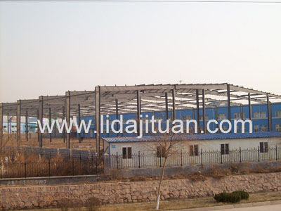 LD91003China steel structure