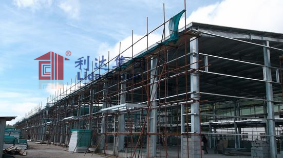 Seychelles steel structure building project